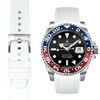Rolex GMT White Rubber watch strap