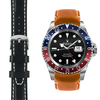 GMT leather watch straps
