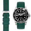 Rolex Sea Dweller Green Rubber watch straps  Edit alt text
