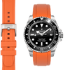 Rolex Sea Dweller Orange Rubber watch straps  Edit alt text