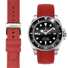 Rolex Sea Dweller Red Rubber watch straps  Edit alt text