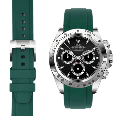 Rolex Daytona Green Rubber Watch Band