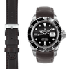 Submariner brown Leather Watch Strap