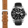Submariner Leather Watch Strap
