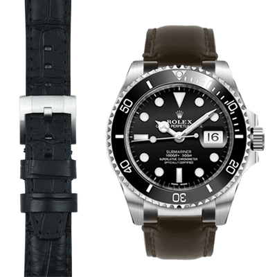 Submariner leather strap