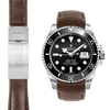Rolex Submariner brown Leather watch strap