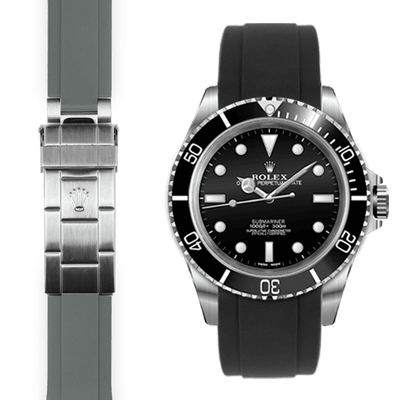 Rolex Submariner rubber watch strap