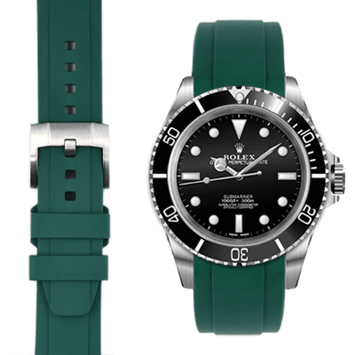 Rolex Submariner GreenRubber watch straps