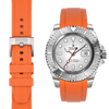 Rolex Yacht Master Orange Rubber Strap
