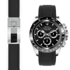 Rolex Daytona black rubber deployant watch band