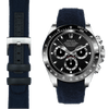 Daytona navy nylon watch strap