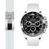 Rolex Daytona white rubber deployant watch band