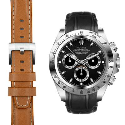 Rolex Daytona leather watch straps