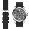 Rolex Oyster perpetual black rubber watch strap