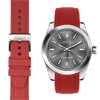 Rolex Oyster perpetual red rubber watch strap