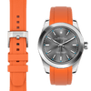 Rolex Oyster perpetual orange rubber watch strap