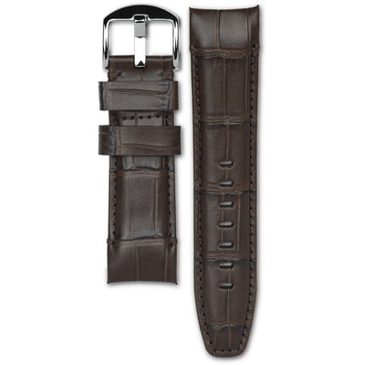 panerai brown alligator leather watch strap