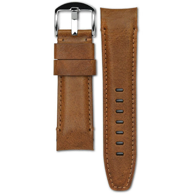 panerai chestnut brown leather watch strap