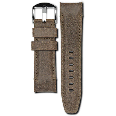 panerai praline leather watch strap