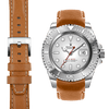 Rolex Yacht Master tan leather watch strap
