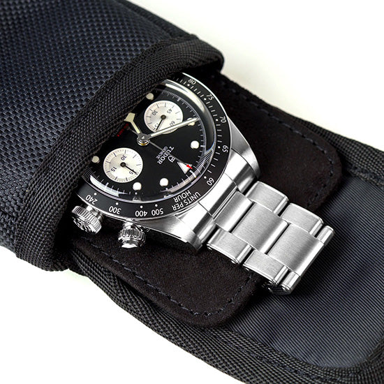 Tudor Chrono stored safely in the pouch