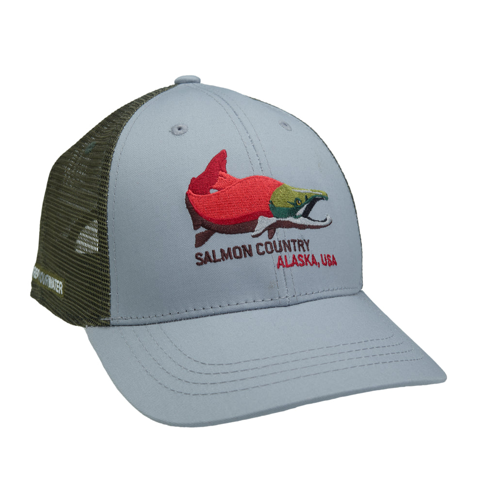 Alaska Salmon Country Hat
