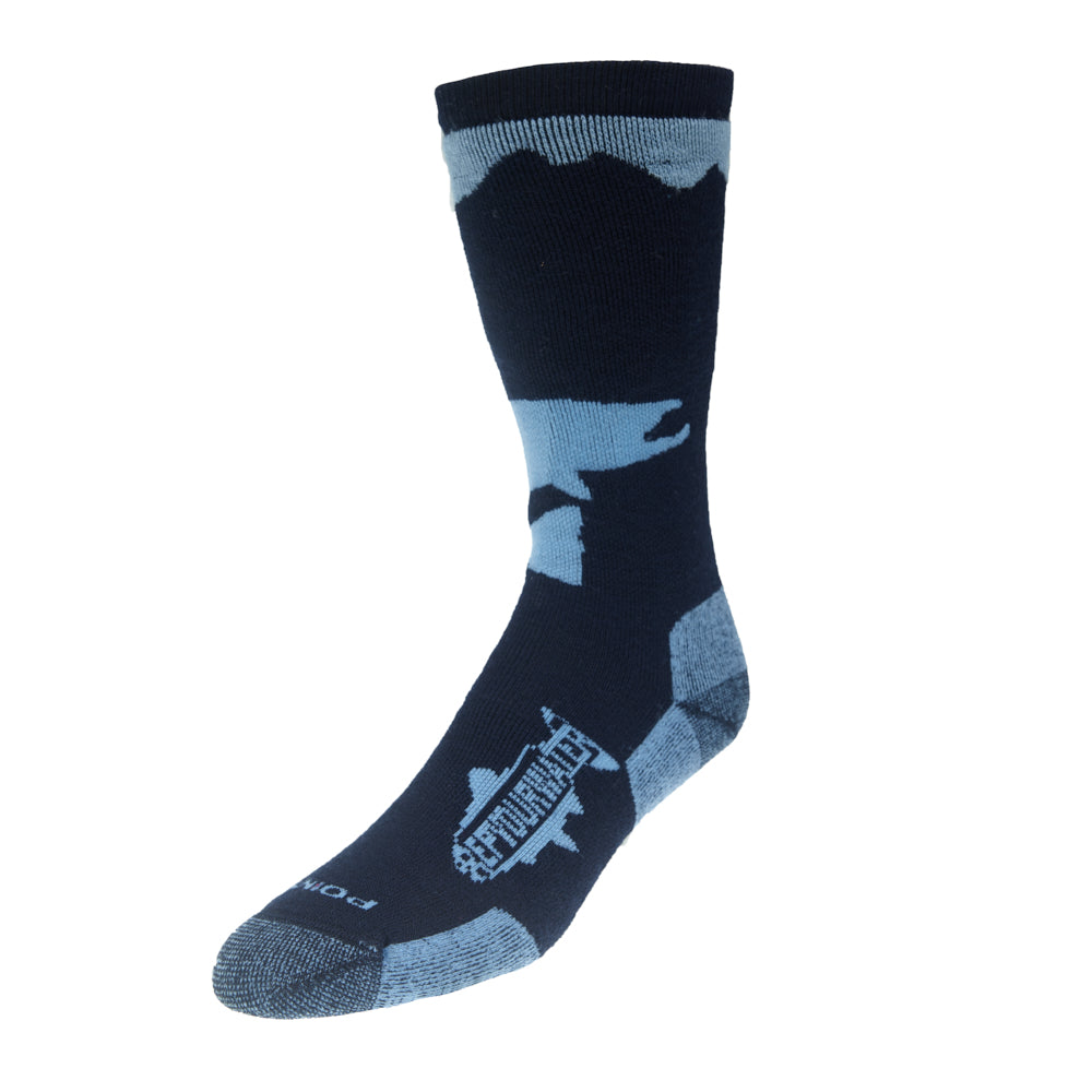 Trout Socks: Jumping Trout