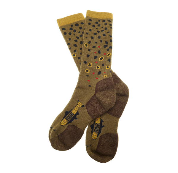 Trout Socks | Brown Trout