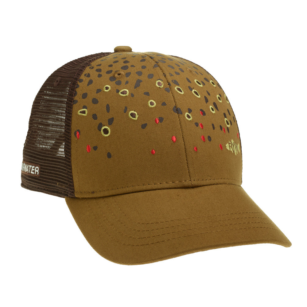9f111c02ee90d Brown Trout Skin Hat