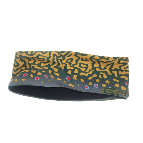 Brook Trout Skin Thermal Headband