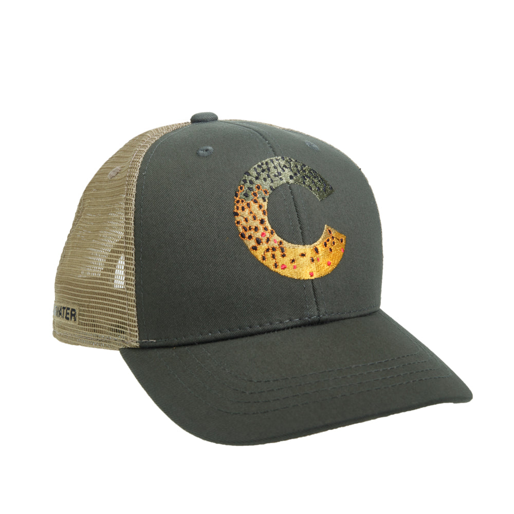 5681a1c6e9656 Colorado Brown Trout Skin Hat