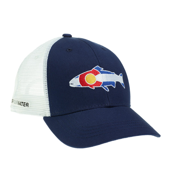 Rep Your Water RepYourWild Elk Logo Hat-Grey