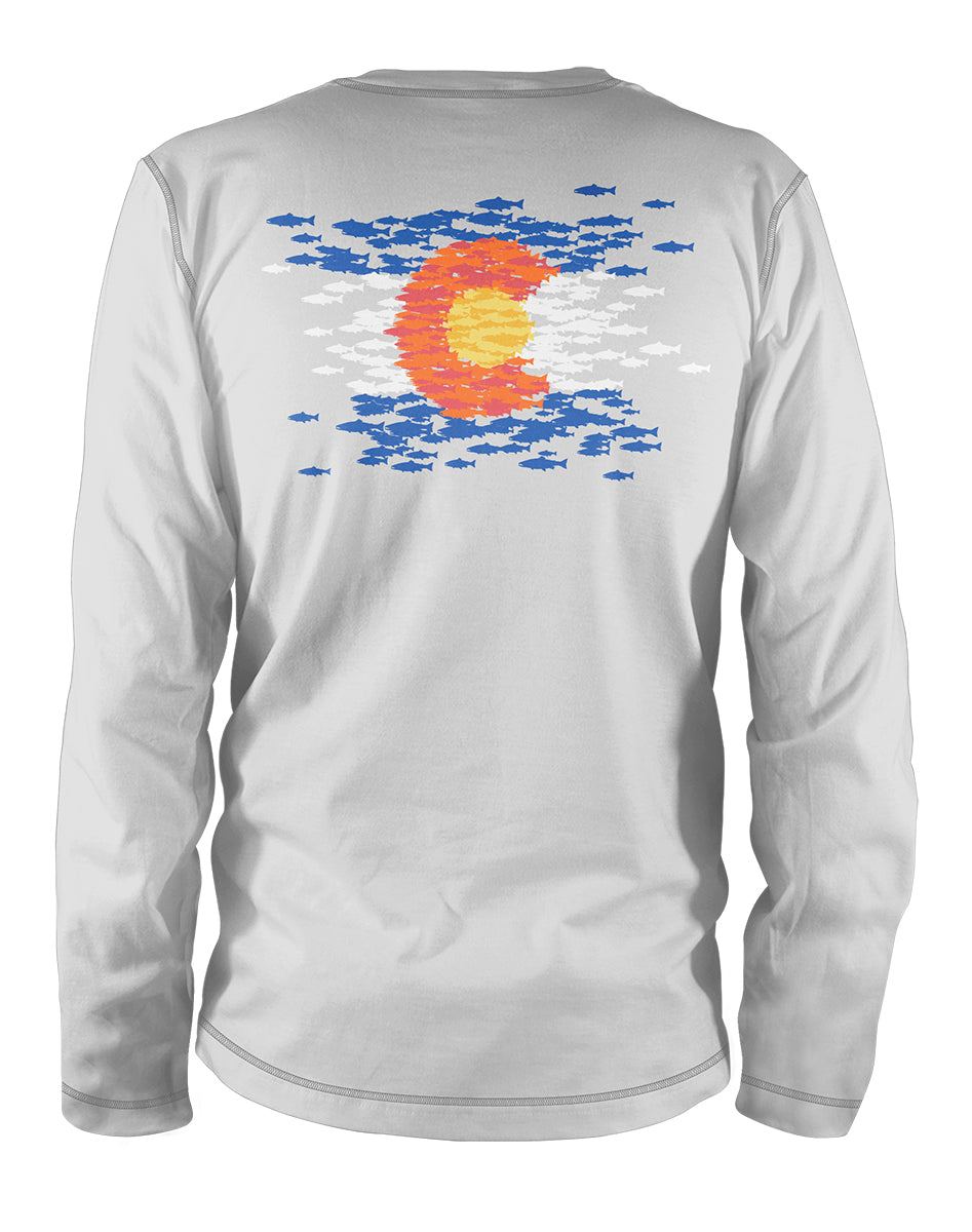 Colorado Mosaic Ultra Light Sun Shirt