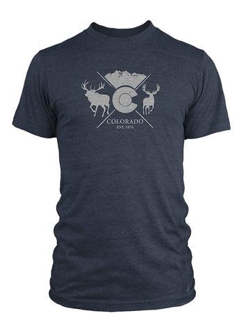 Colorado Est. 1876 Western Hunter Collab Tee