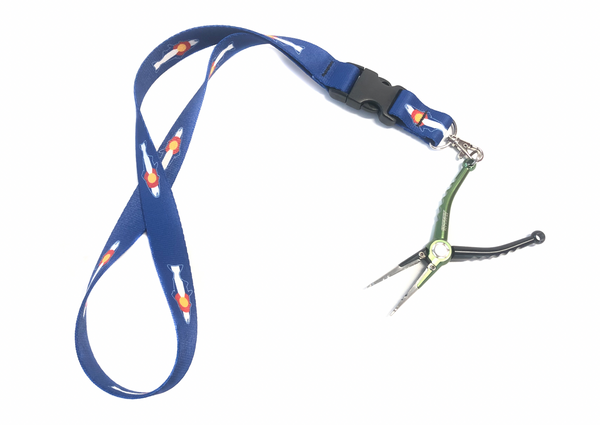 Colorado Trout Flag Lanyard