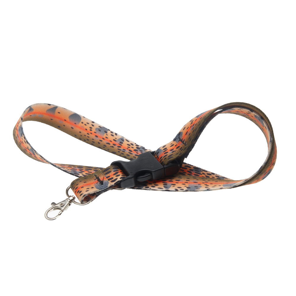 Cutthroat Skin Lanyard