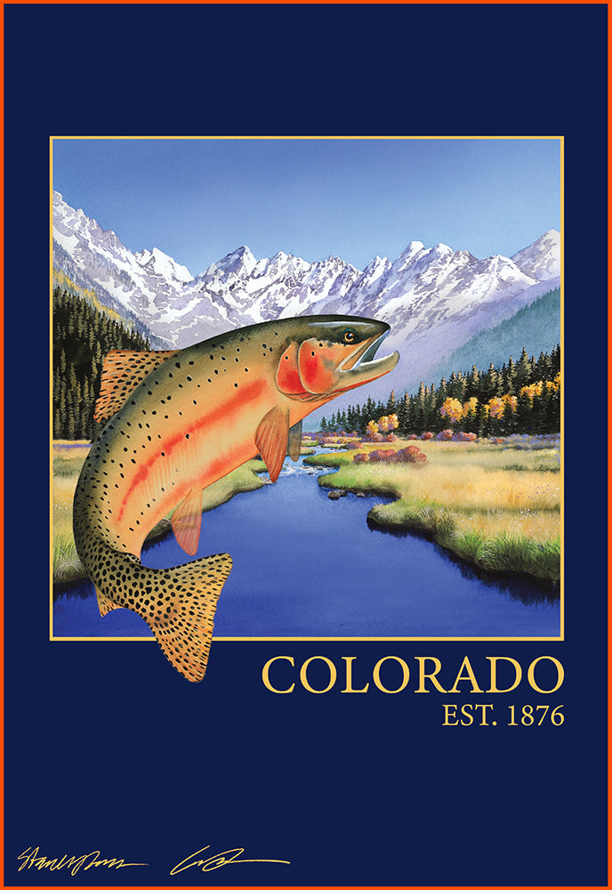 Colorado Est. 1876 Fine Art Print
