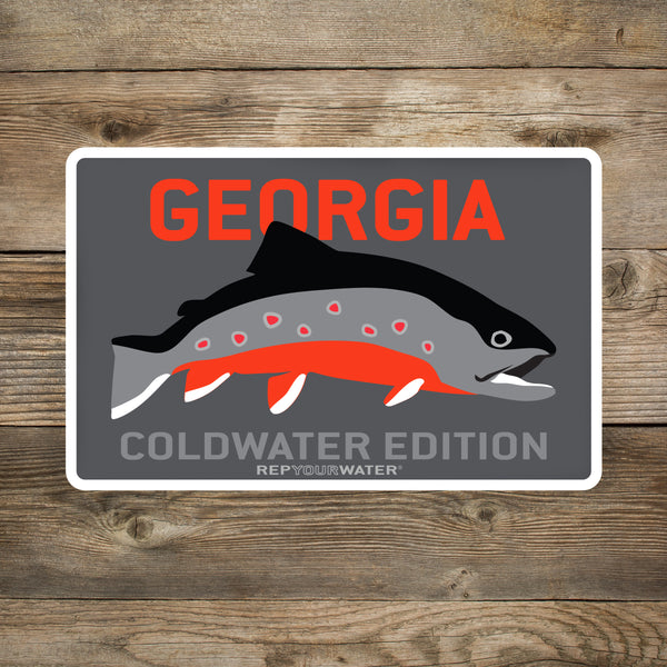 Georgia Coldwater 2.0 Sticker