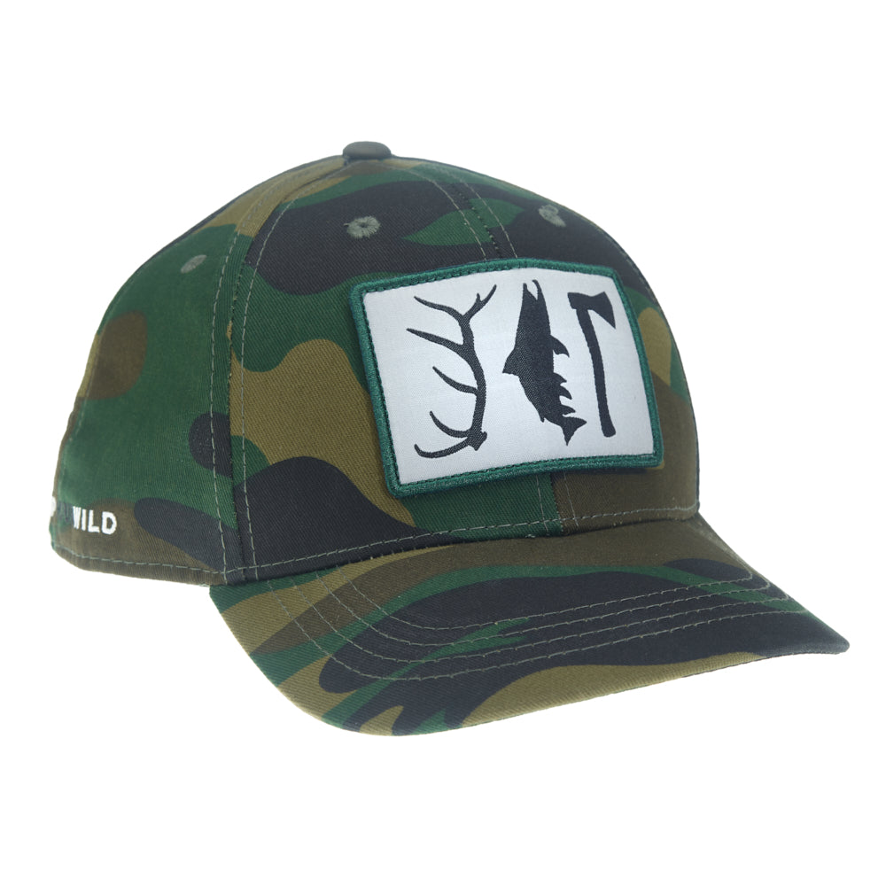 Hunt. Fish. Camp. 2.0 Hat