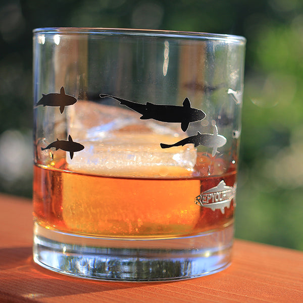 Creek Dreams Old Fashioned Glass