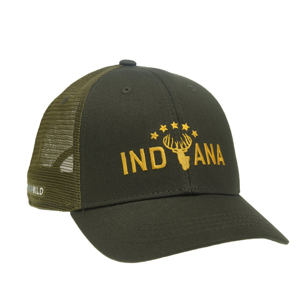 Indiana Whitetail Hat