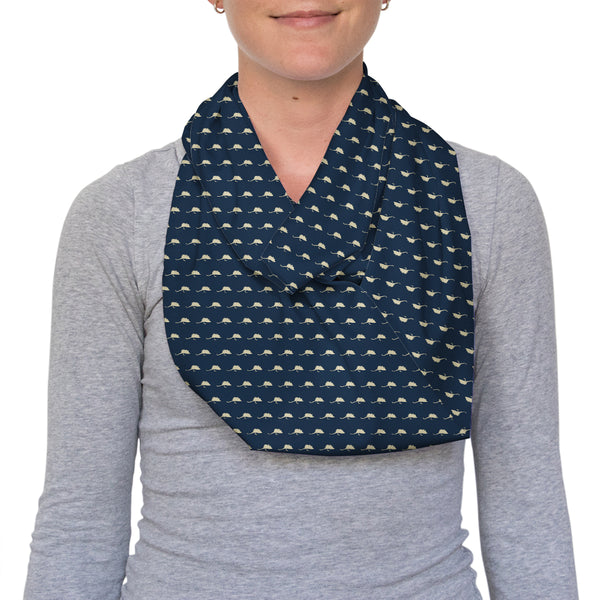 Mouse Flies Infinity Scarf
