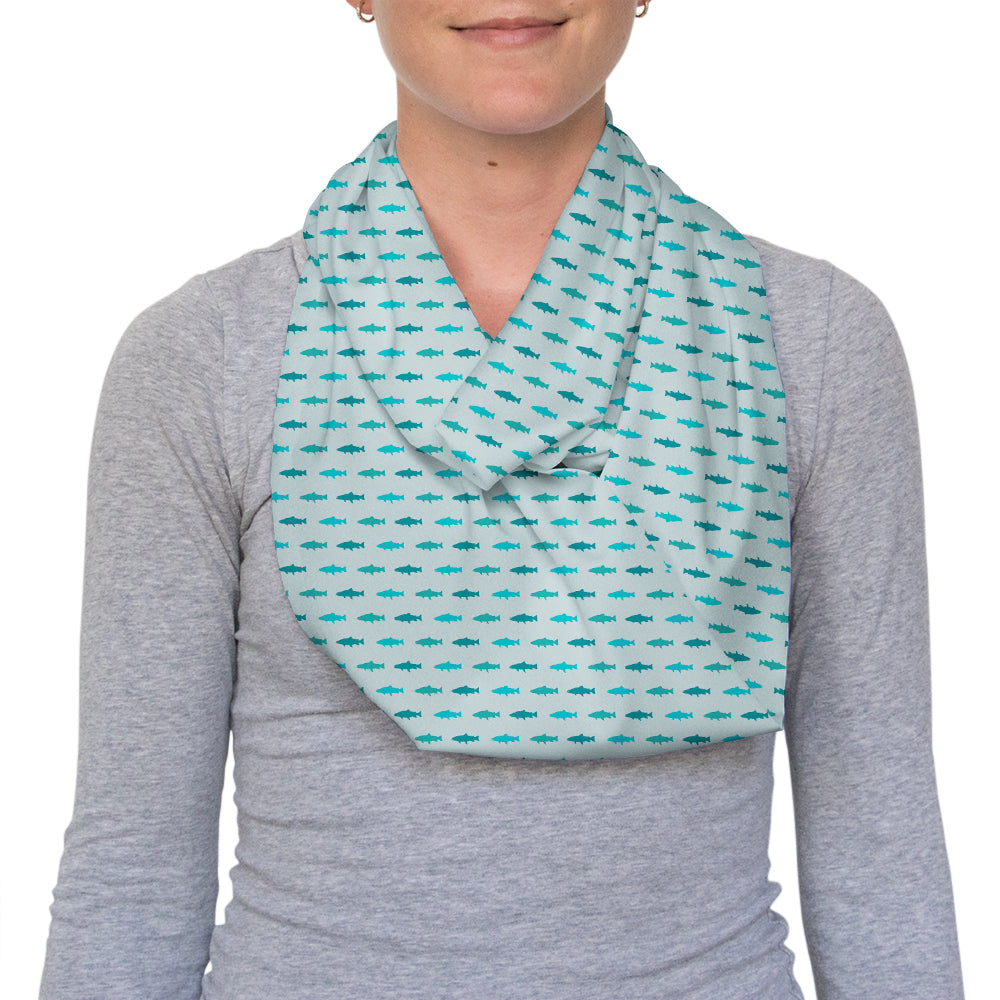 Trout Country Infinity Scarf
