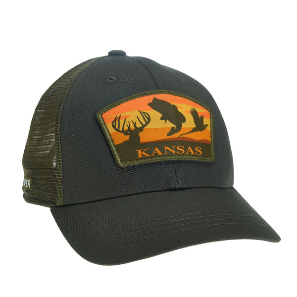 Kansas Sportsman's Trio Hat