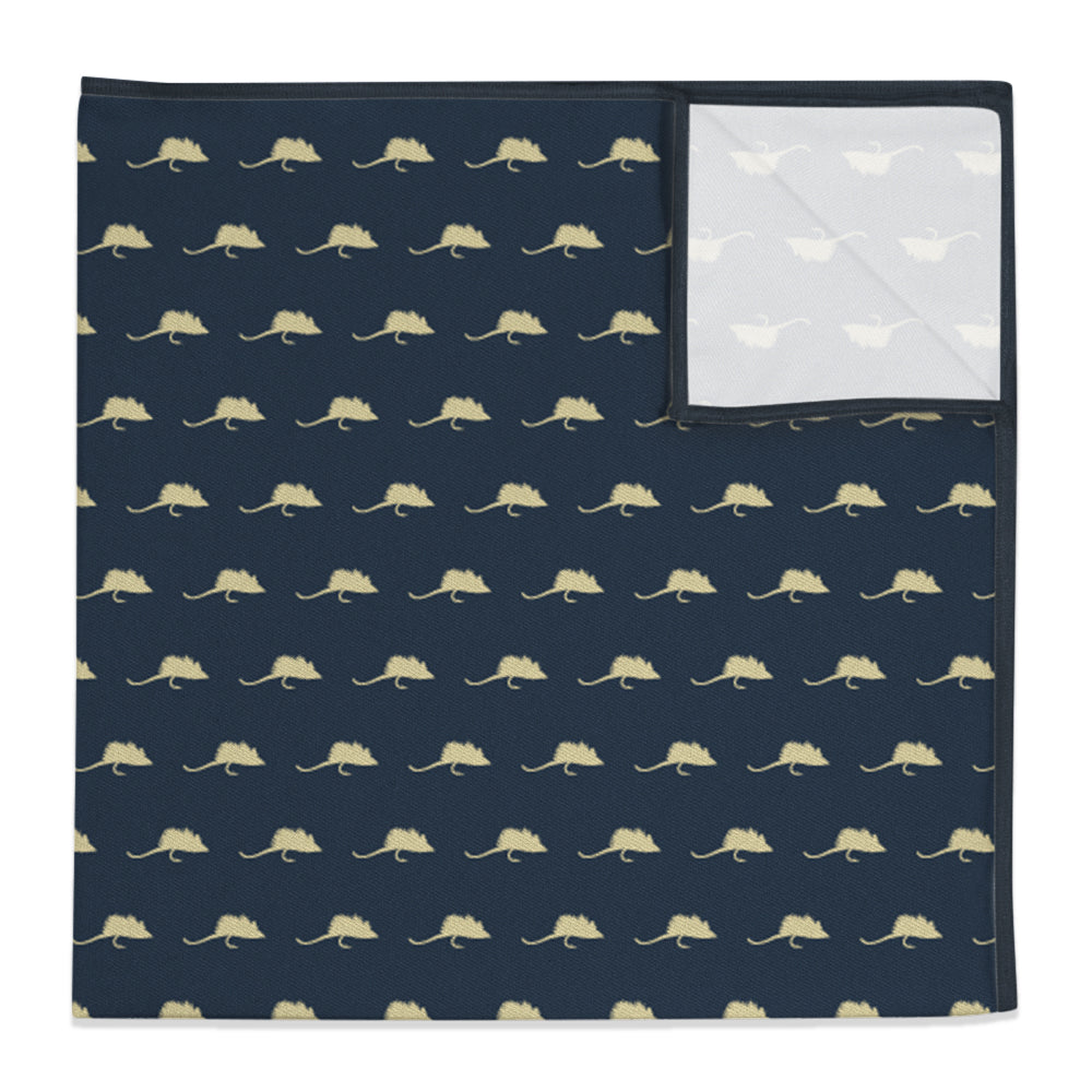 Mouse Flies Pocket Square