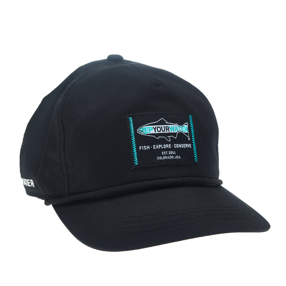 RepYourWater Logo Hat - Unstructured 5-Panel
