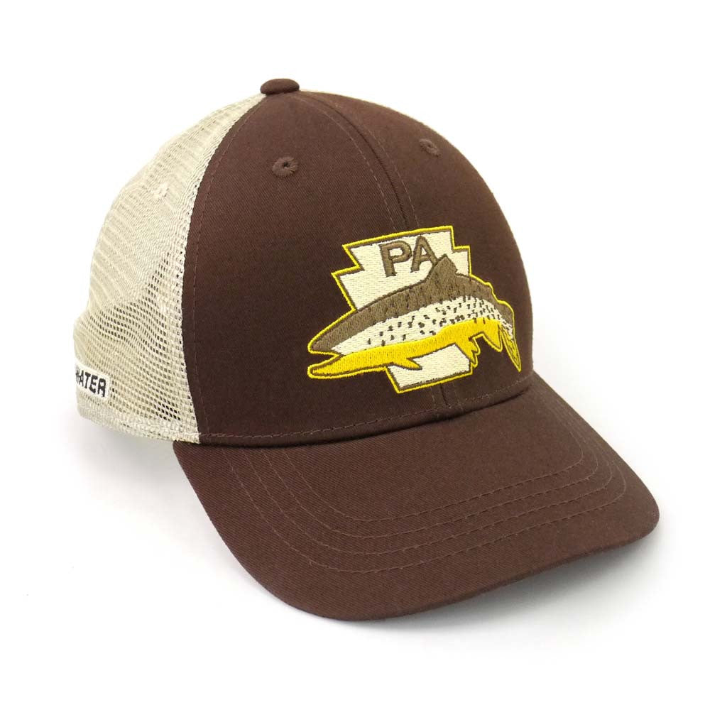 Pennsylvania Keystone Brown Trout Hat