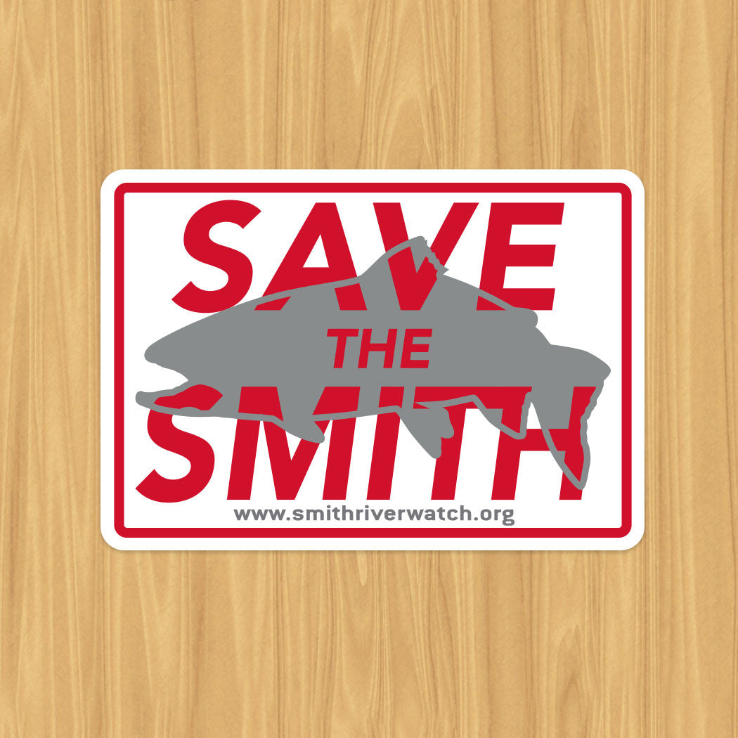 Save the Smith Sticker