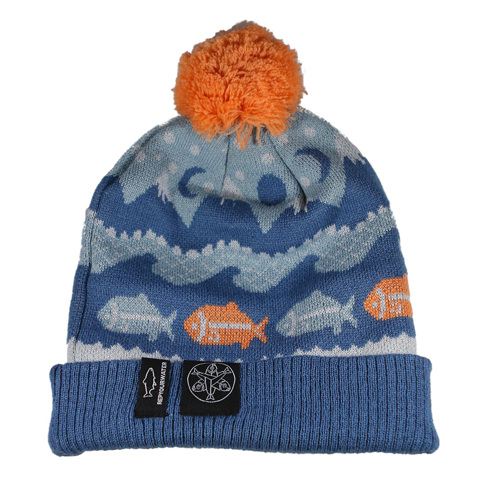 Salmon Sisters Collab Knit Hat
