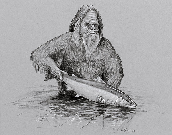 Squatch and Release Fine Art Print